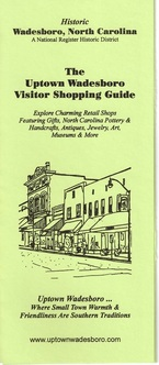 visitor shopping guide for wadesboro nc business district